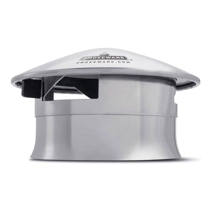 Chimney grill cap
