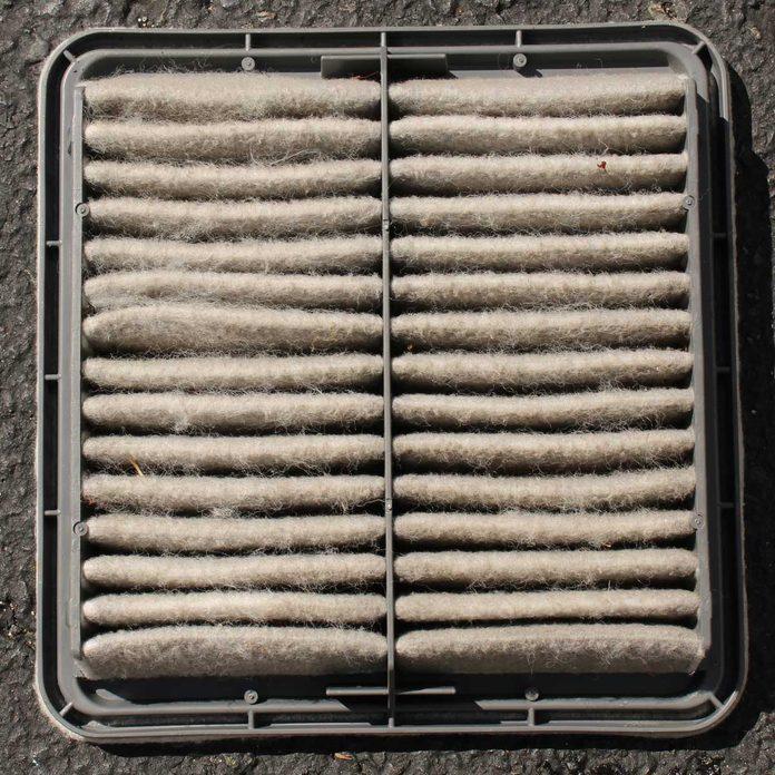 Reinstall the Air Filter