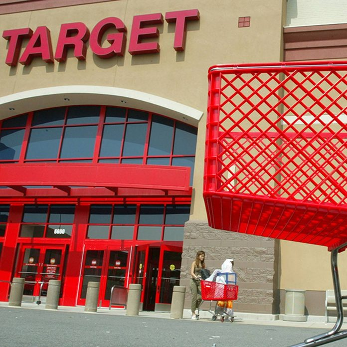 Target shopping cart and store front