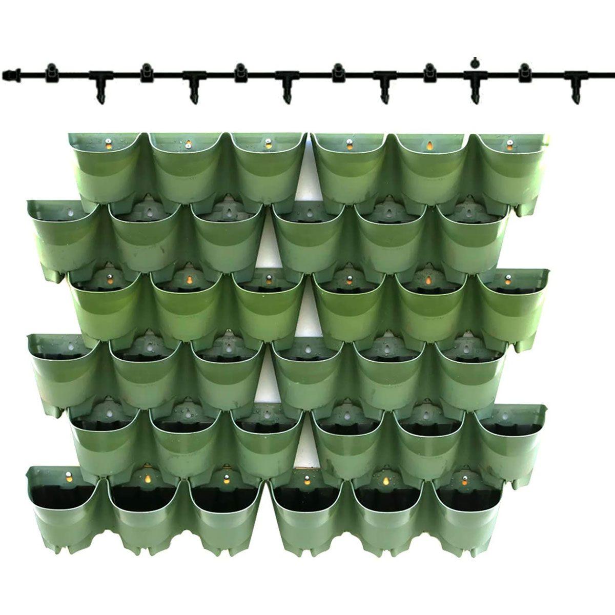 Wall mounted pots