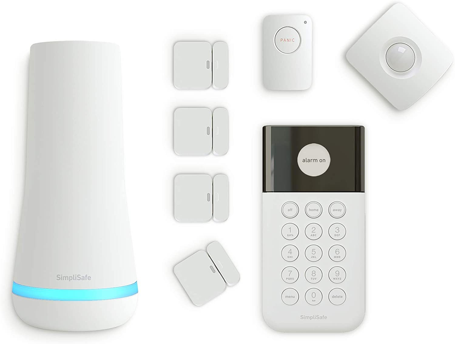 SimpliSafe 8 Piece Wireless Home Security System