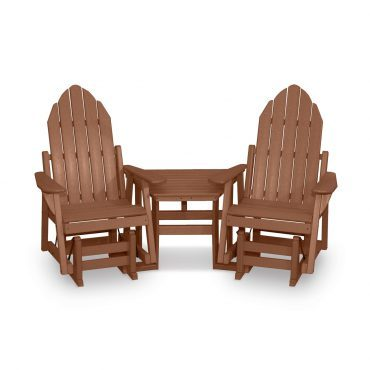 Adirondack Tete-a-Tete Glider Chair