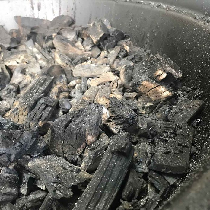 Fill the Grill with Charcoal