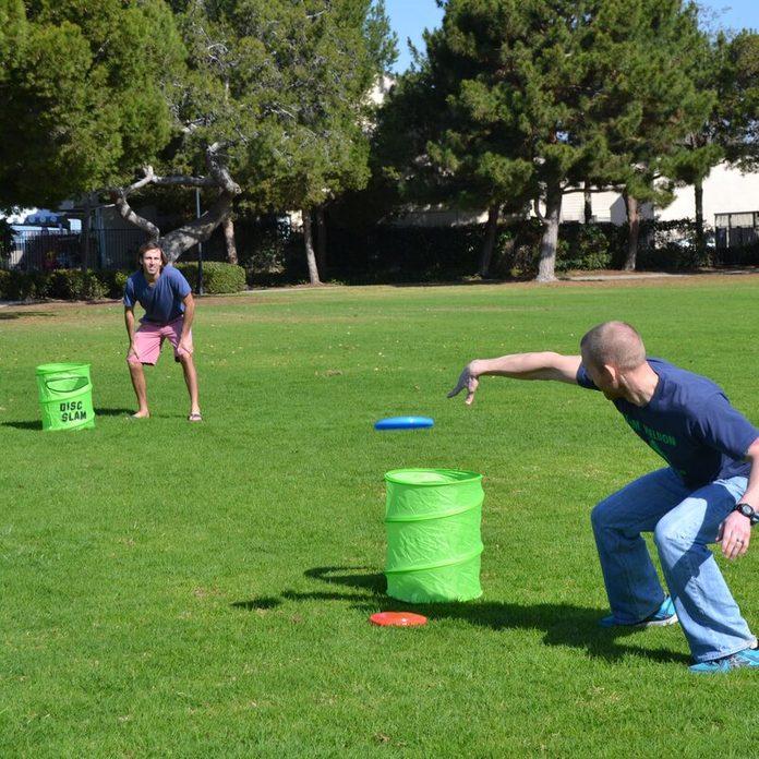 disc slam outdoor game