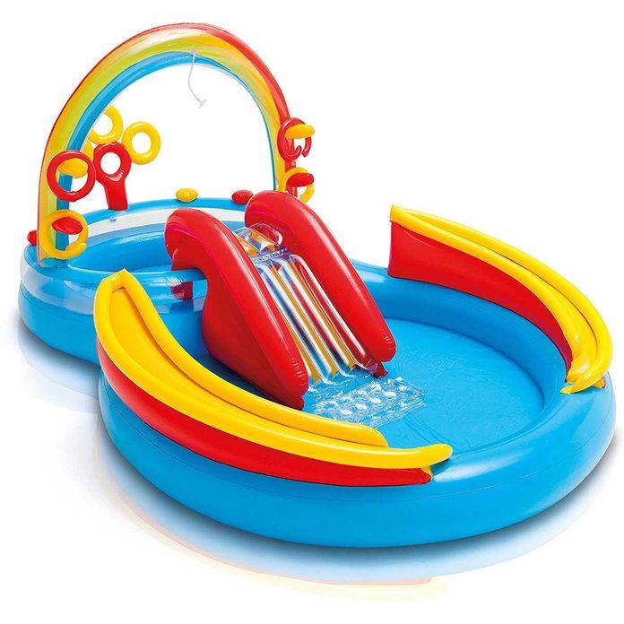 Rainbow kiddie pool