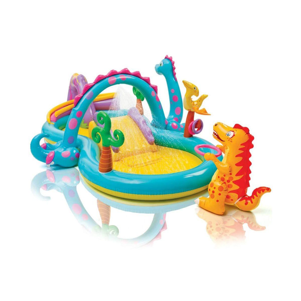 Dinosaur kiddie pool