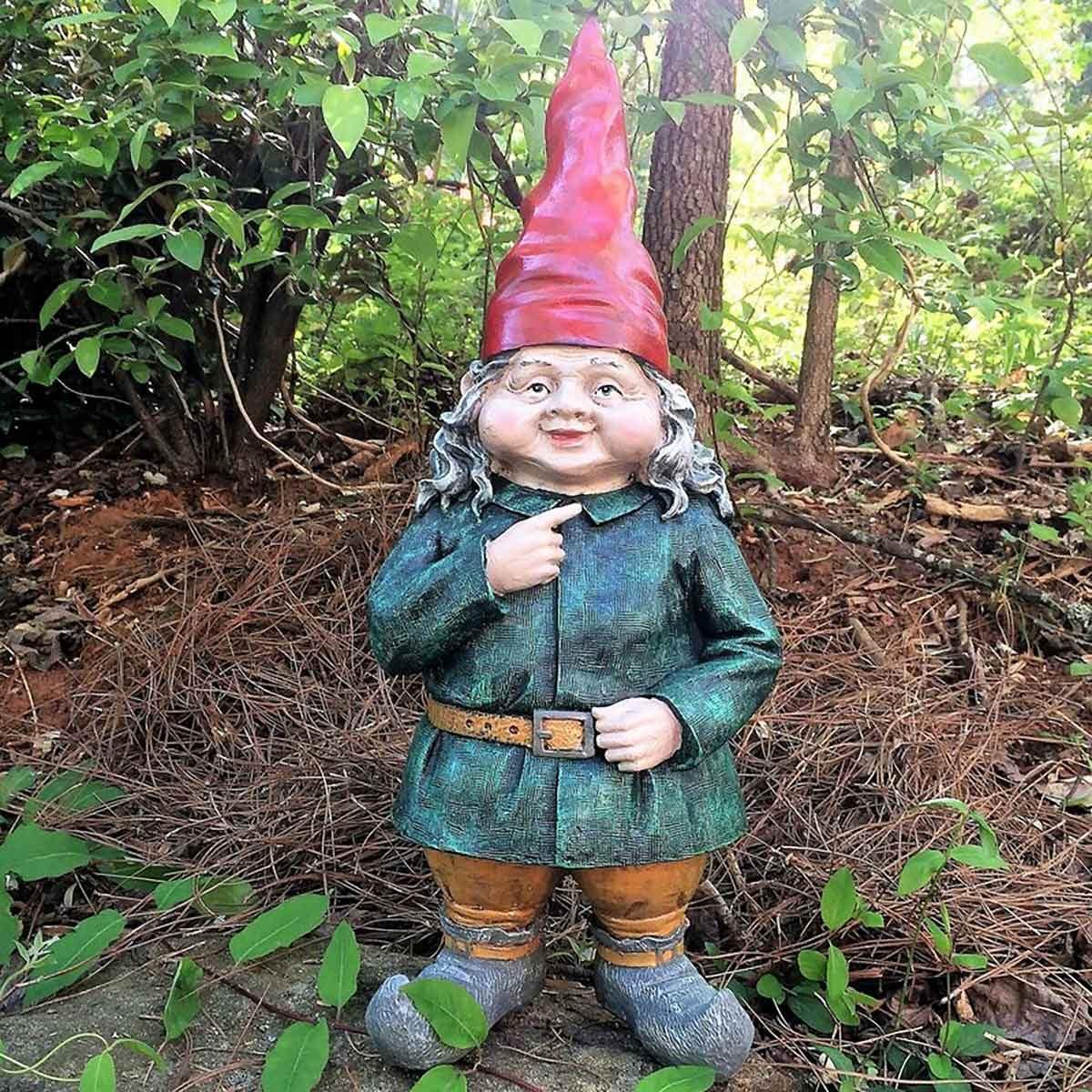 Lady garden gnome