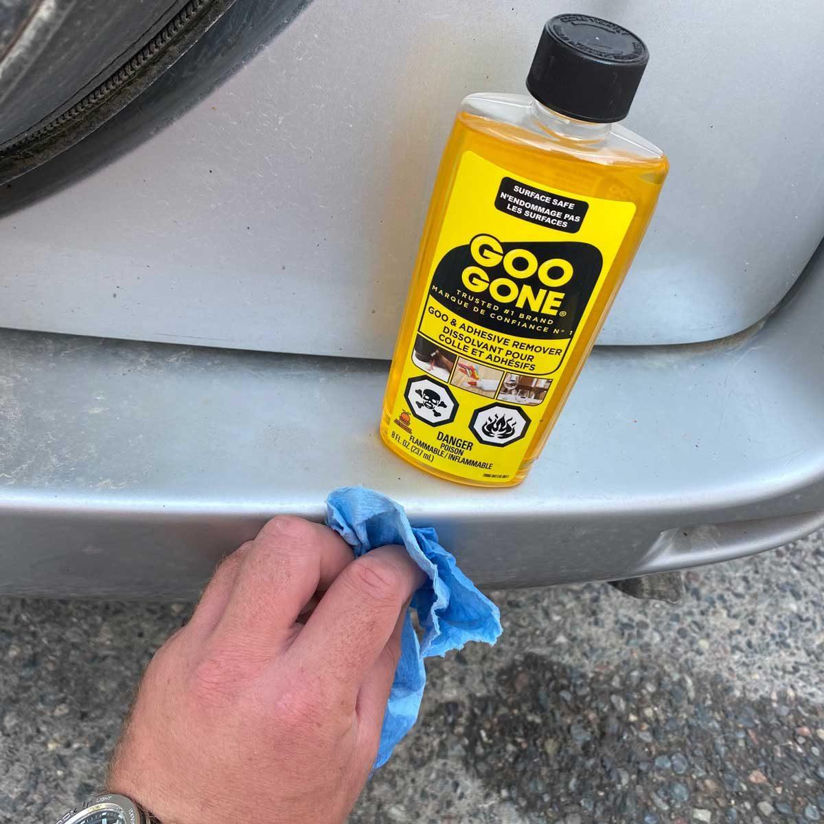 Remove Residual Adhesive