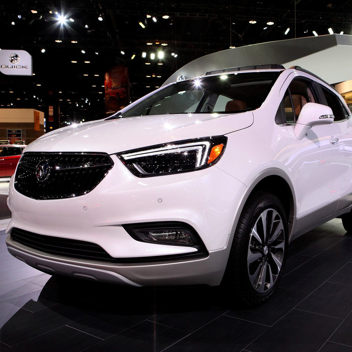 2017 Buick Encore is on display
