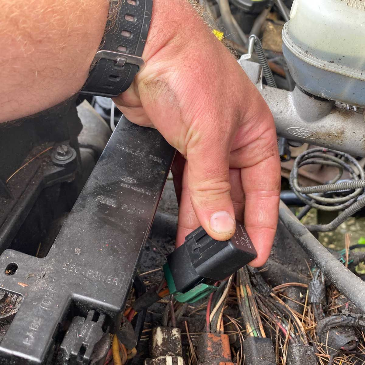 Reinstall the Fuse or Relay