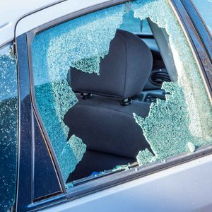 How to Temporarily Cover a Broken Car Window