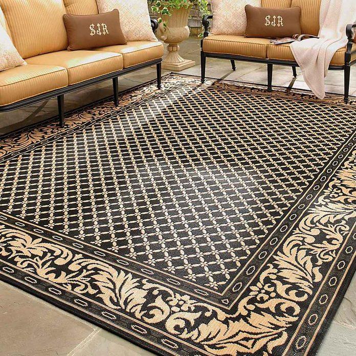Ornate rug