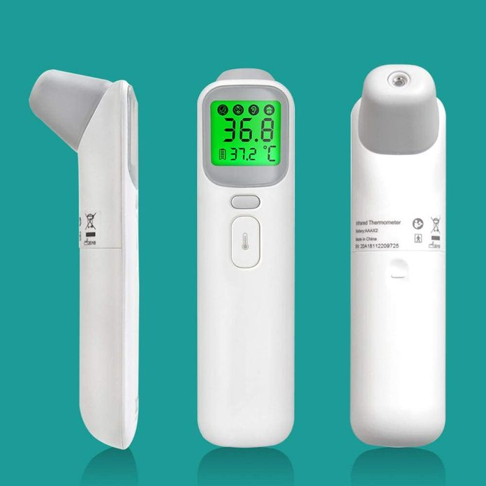 Forehead Thermometer, Non-Contact Accurate and Fast Reading Ear Infrared Thermometer