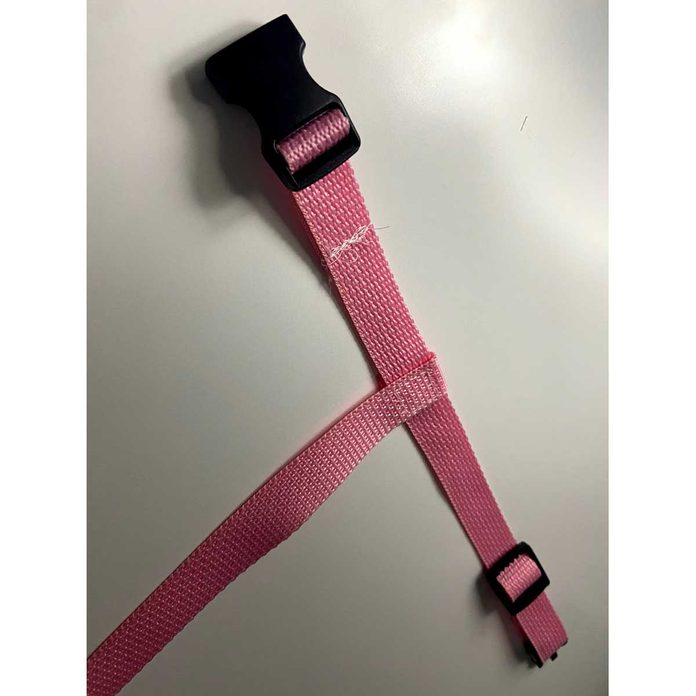 Connect the Back and Neck Straps