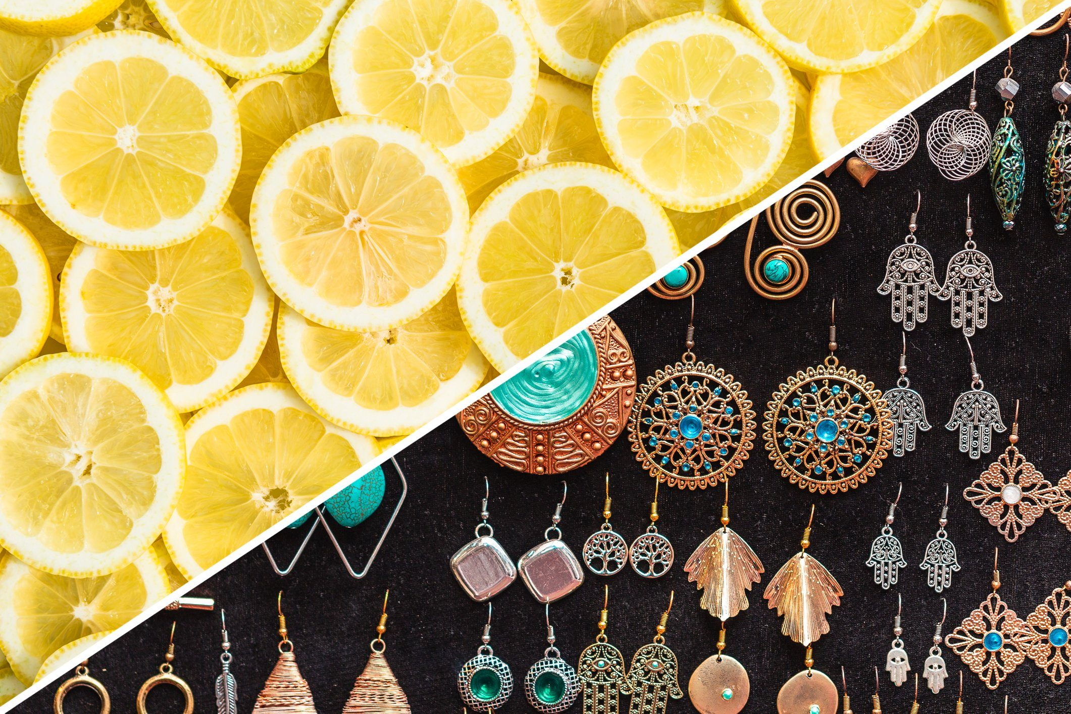 sanitize earrings lemon cleaning uses