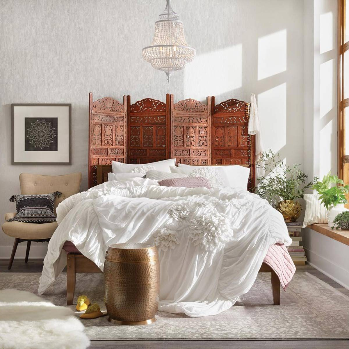 rosewood room divider