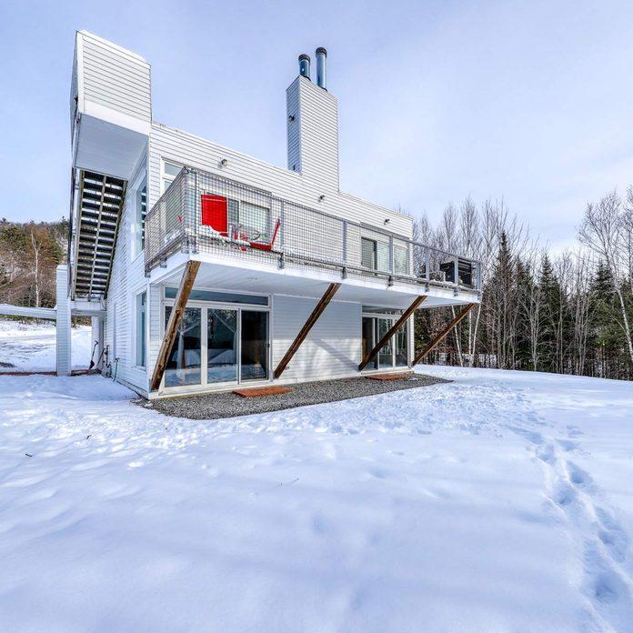 contemporary maine home