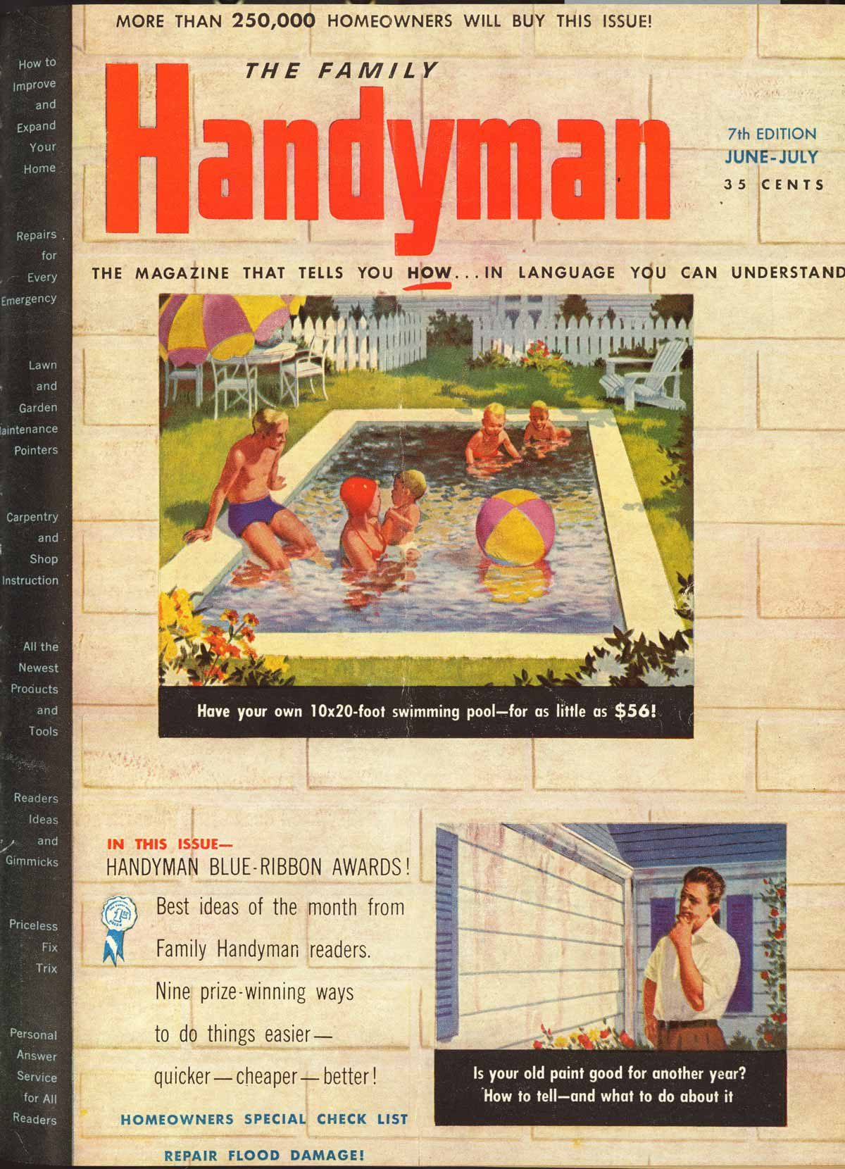 June july 1952 cover