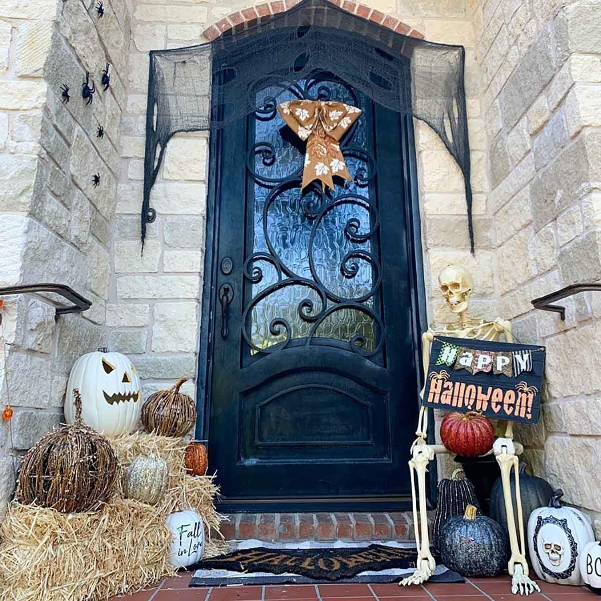 Halloween door