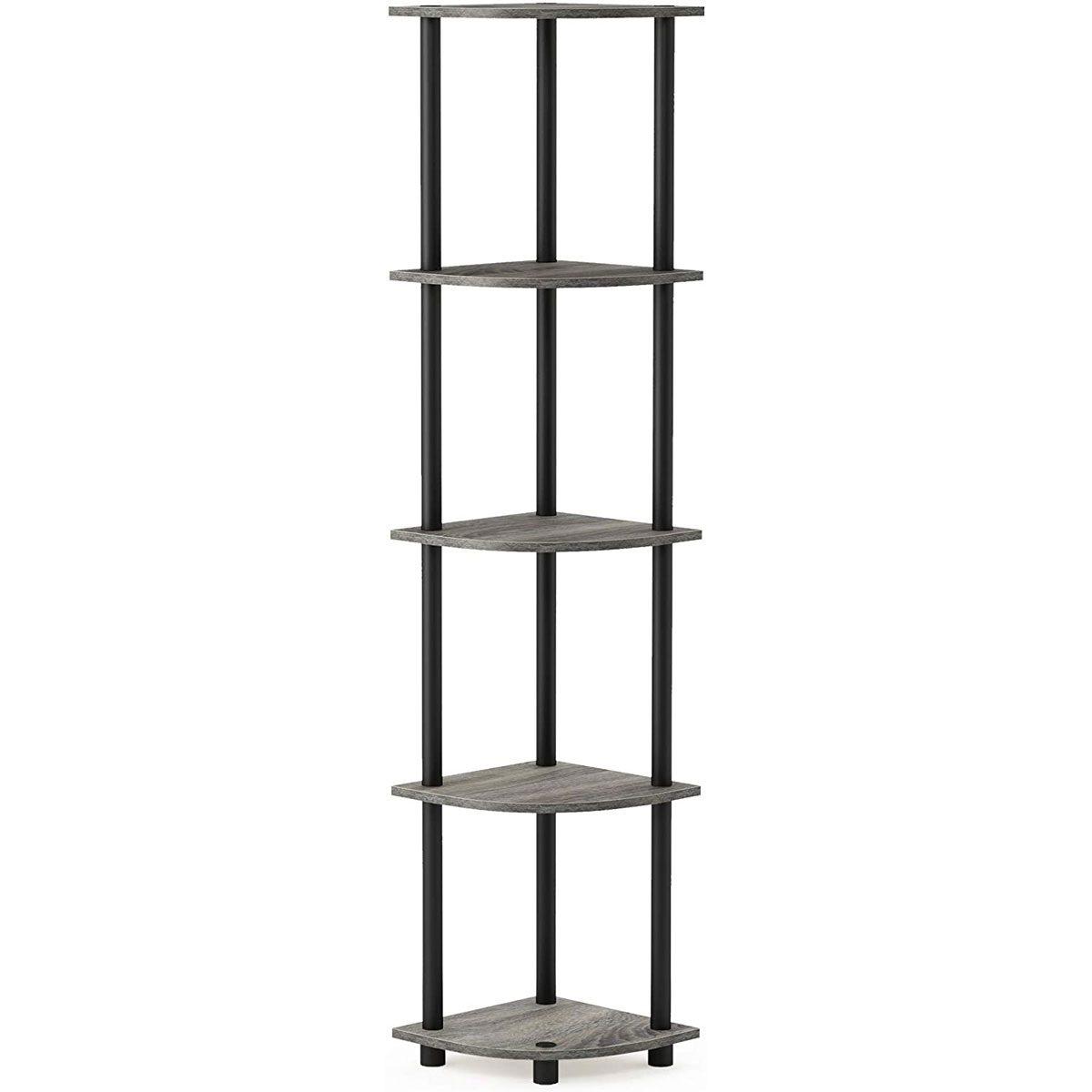 Corner shelf tower