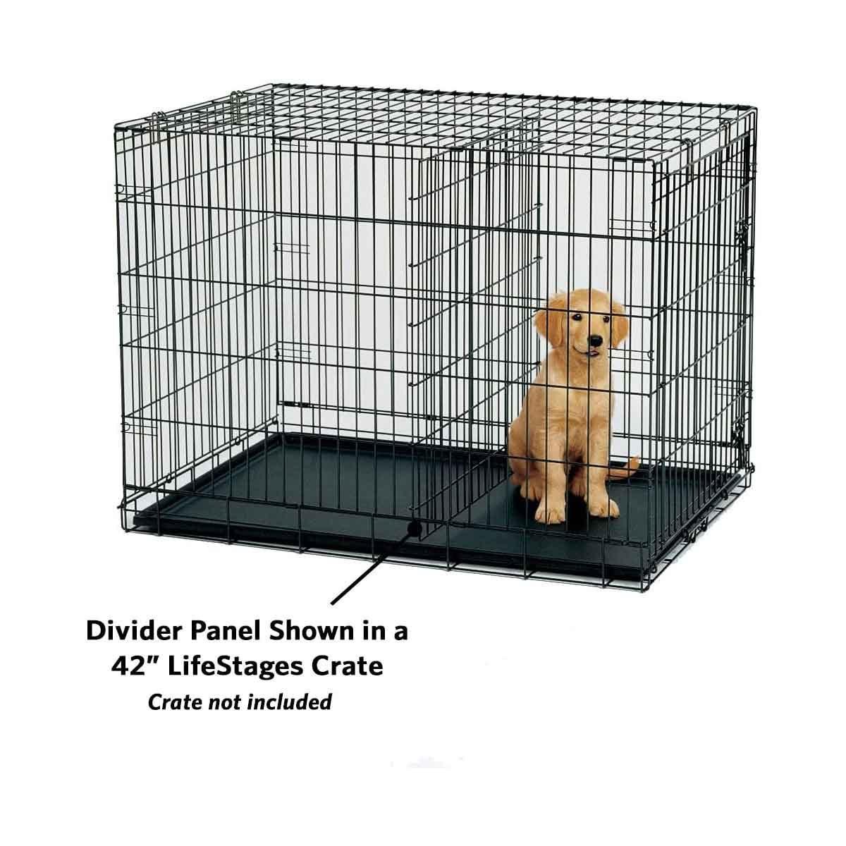 Dog crate divider