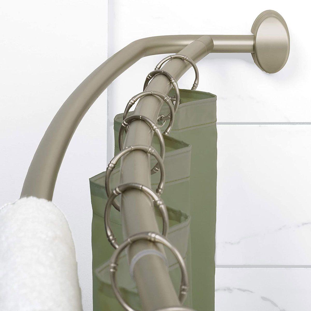 Double shower rod