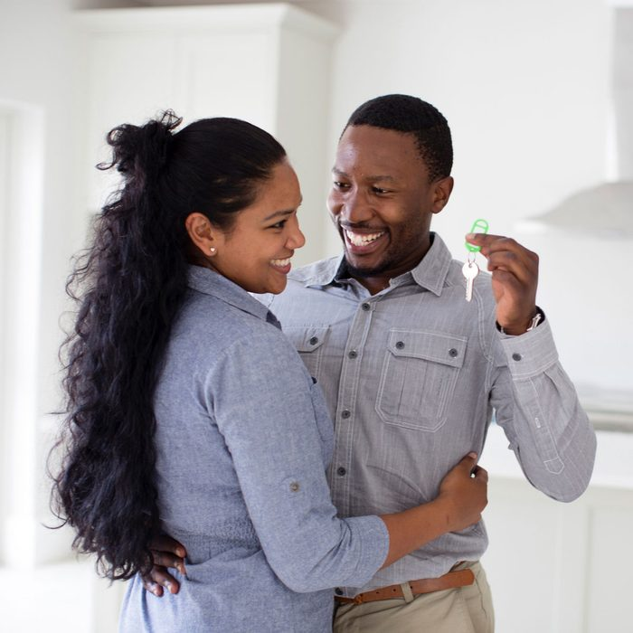 New homeowner young couple
