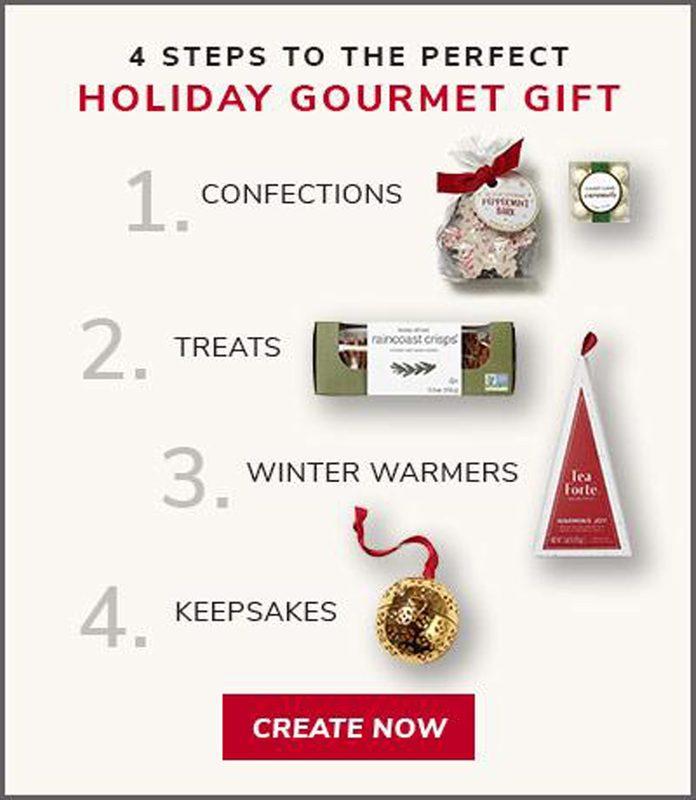 holiday gift basket selection