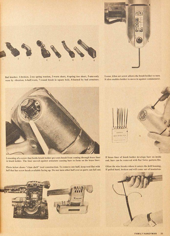 70s tool repair project