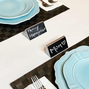 How to Make Holiday Name Place Cards