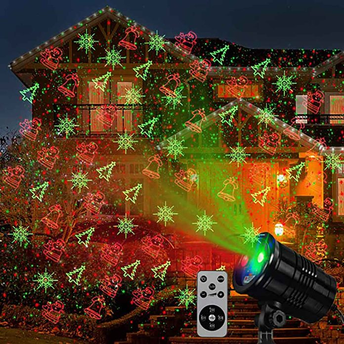holiday light projecor