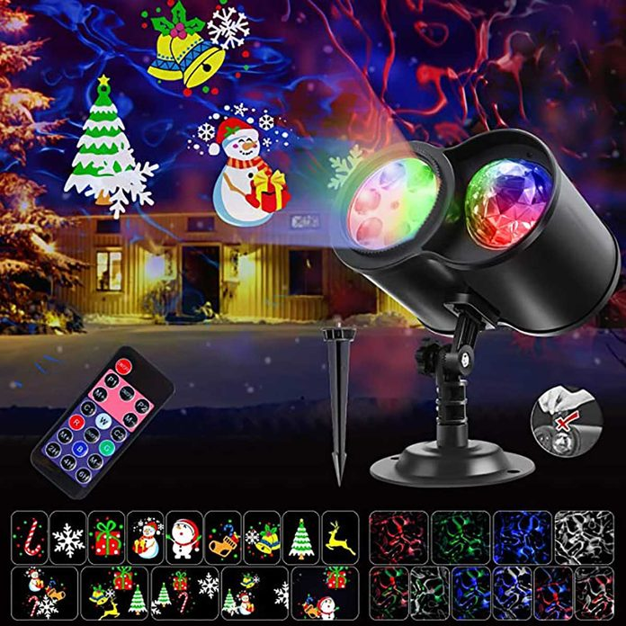 holiday lights projector