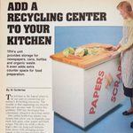 Vintage Family Handyman Project: Add a Recycling Center to Your Home