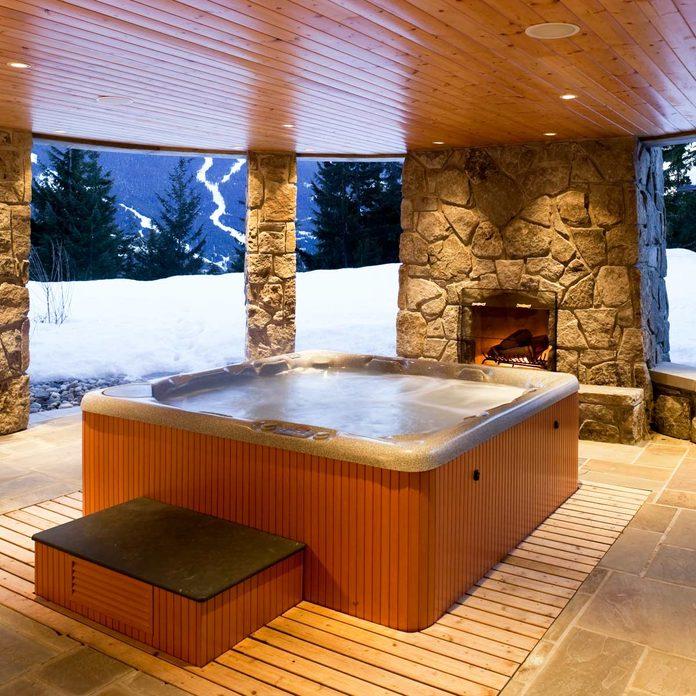 outdoor hot tub hot tub house home interior whistler