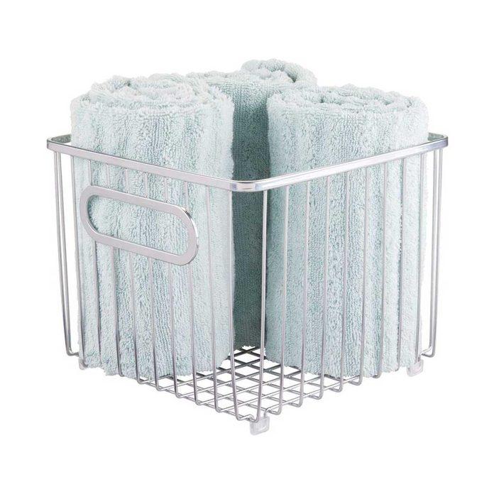 Towel storage bin