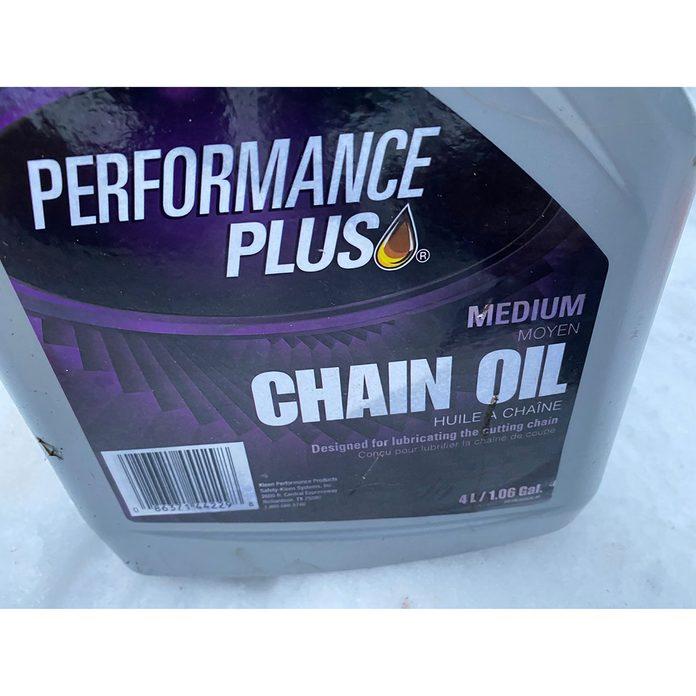 5b Choose Chain Oil