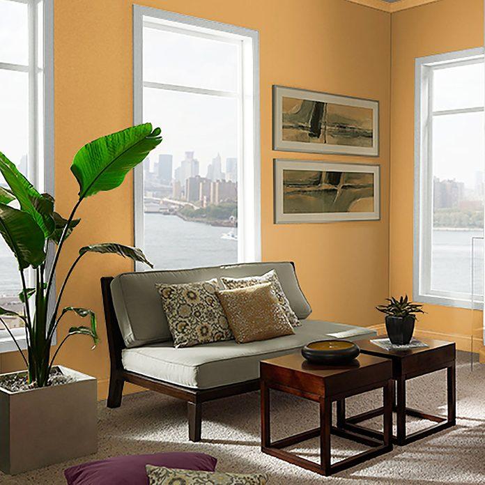 Behr Saffron Strands Room