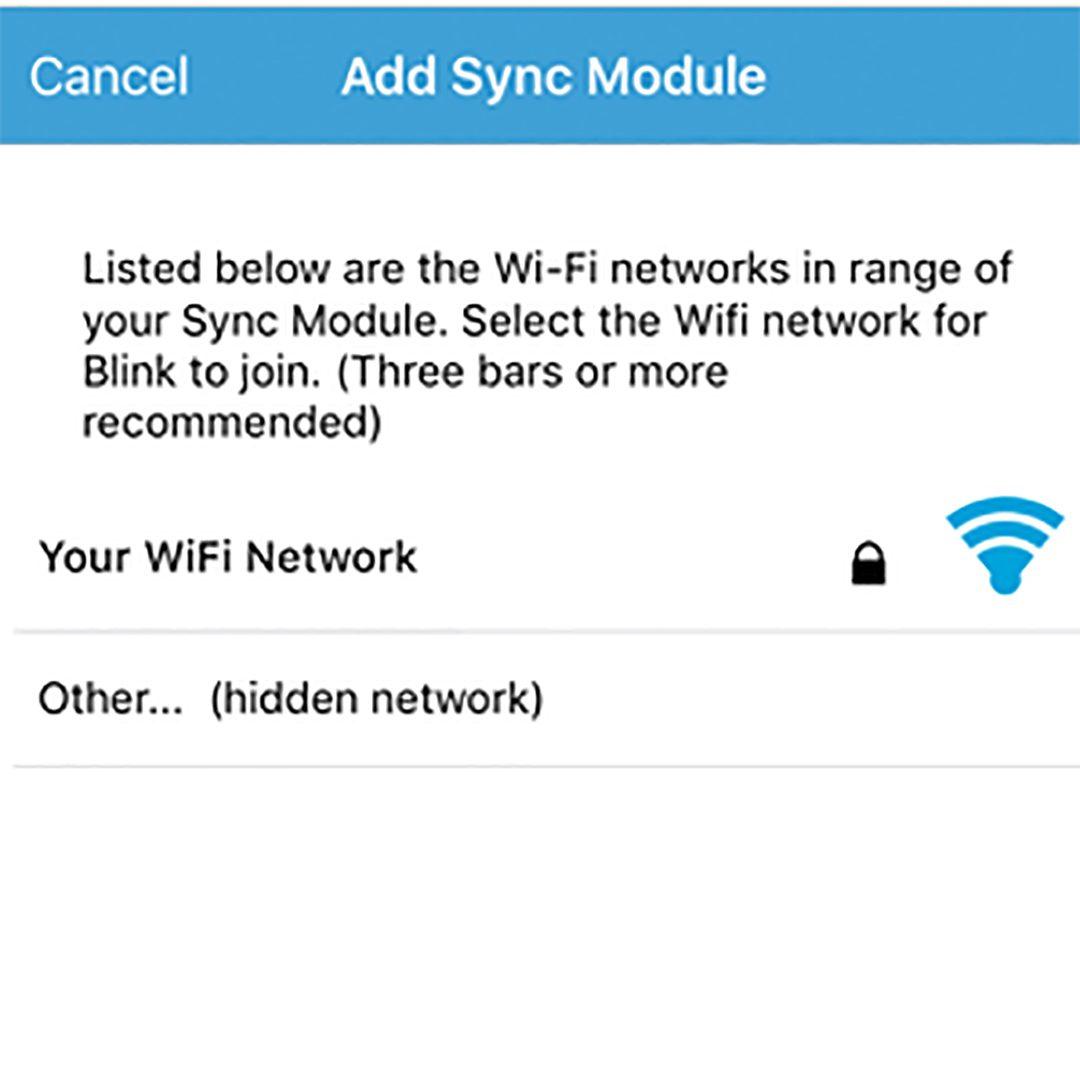 Blink Wi Fi