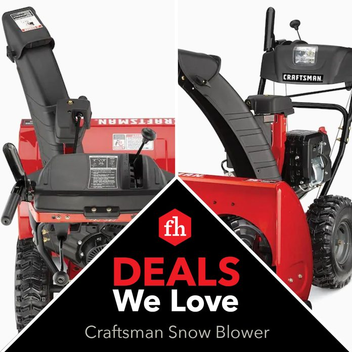 Crafstmansnowblower