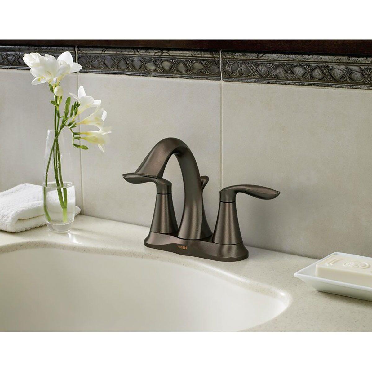 bathroom faucet moen