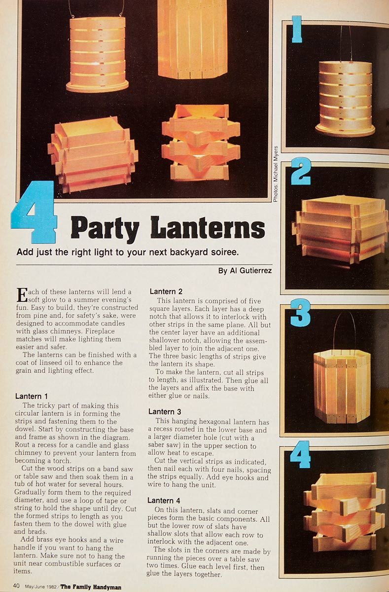 diy party lanterns