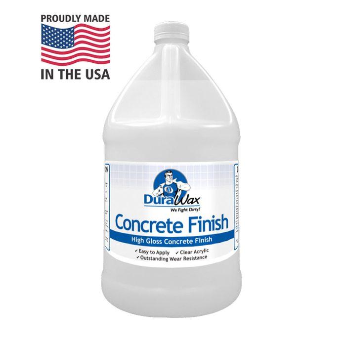 Concrete finish