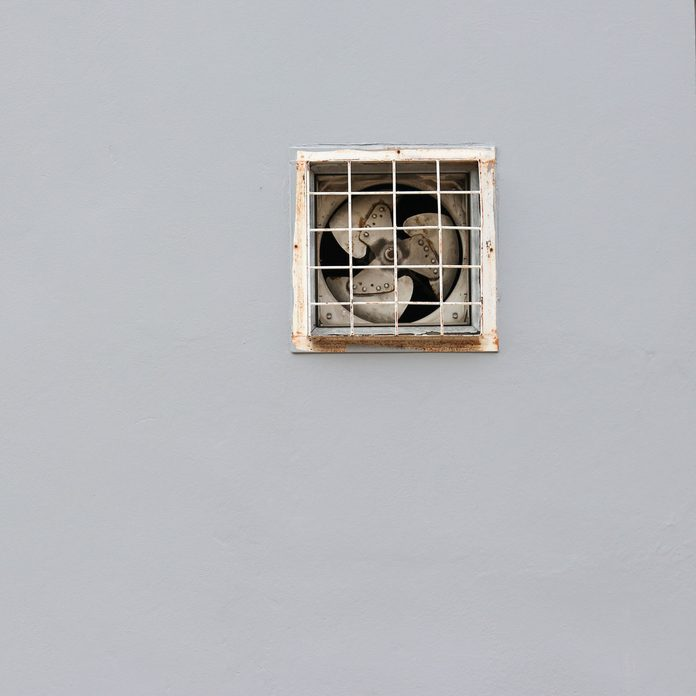 Fan Vent In Wall Gettyimages 1186721581