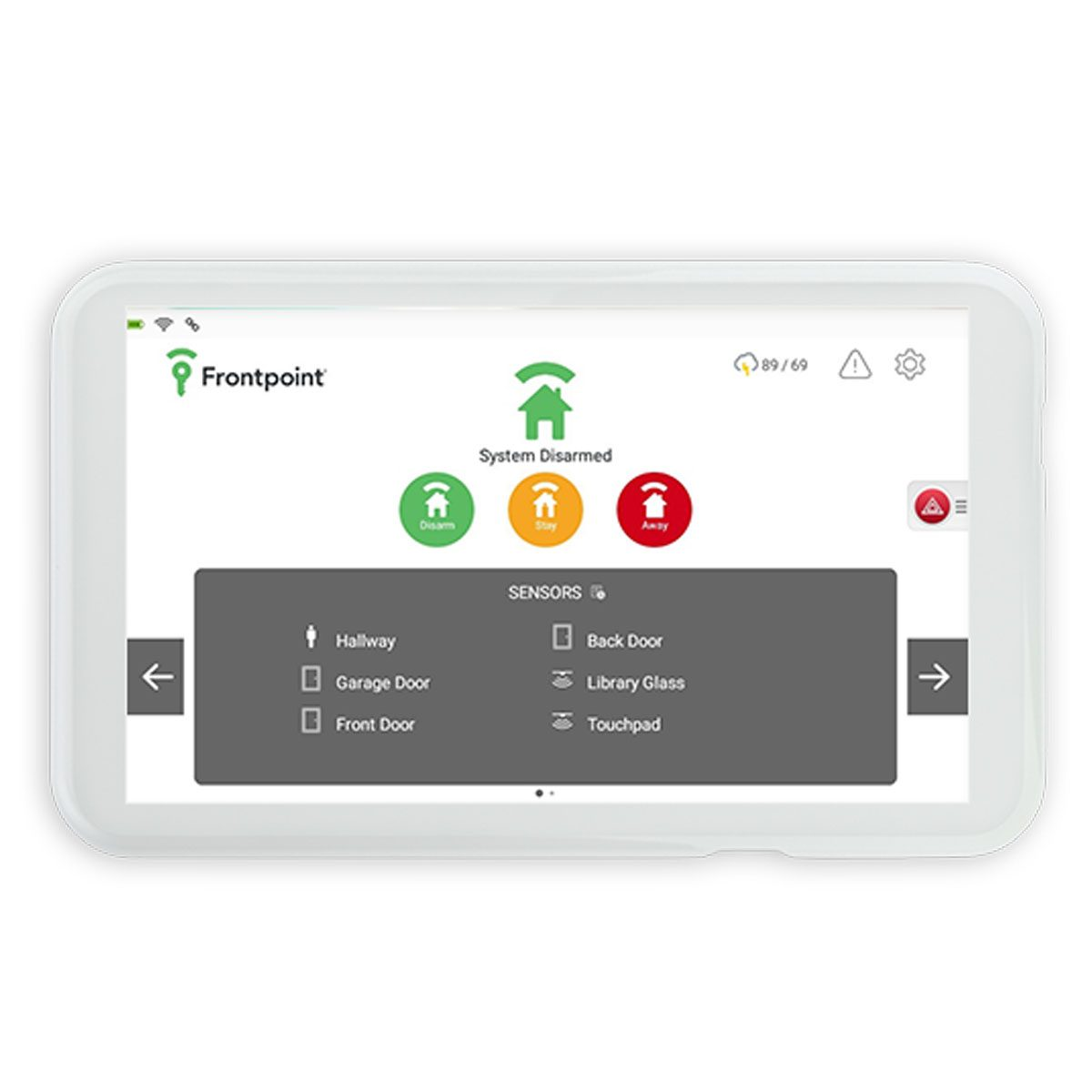 Frontpoint Security panel Touchscreen Product Image 1200x1200 1