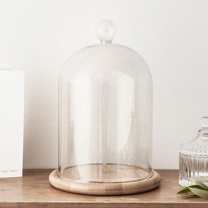 Glass Cloche Bell Jar 81z4 Sjrdpl. Ac Sl1500