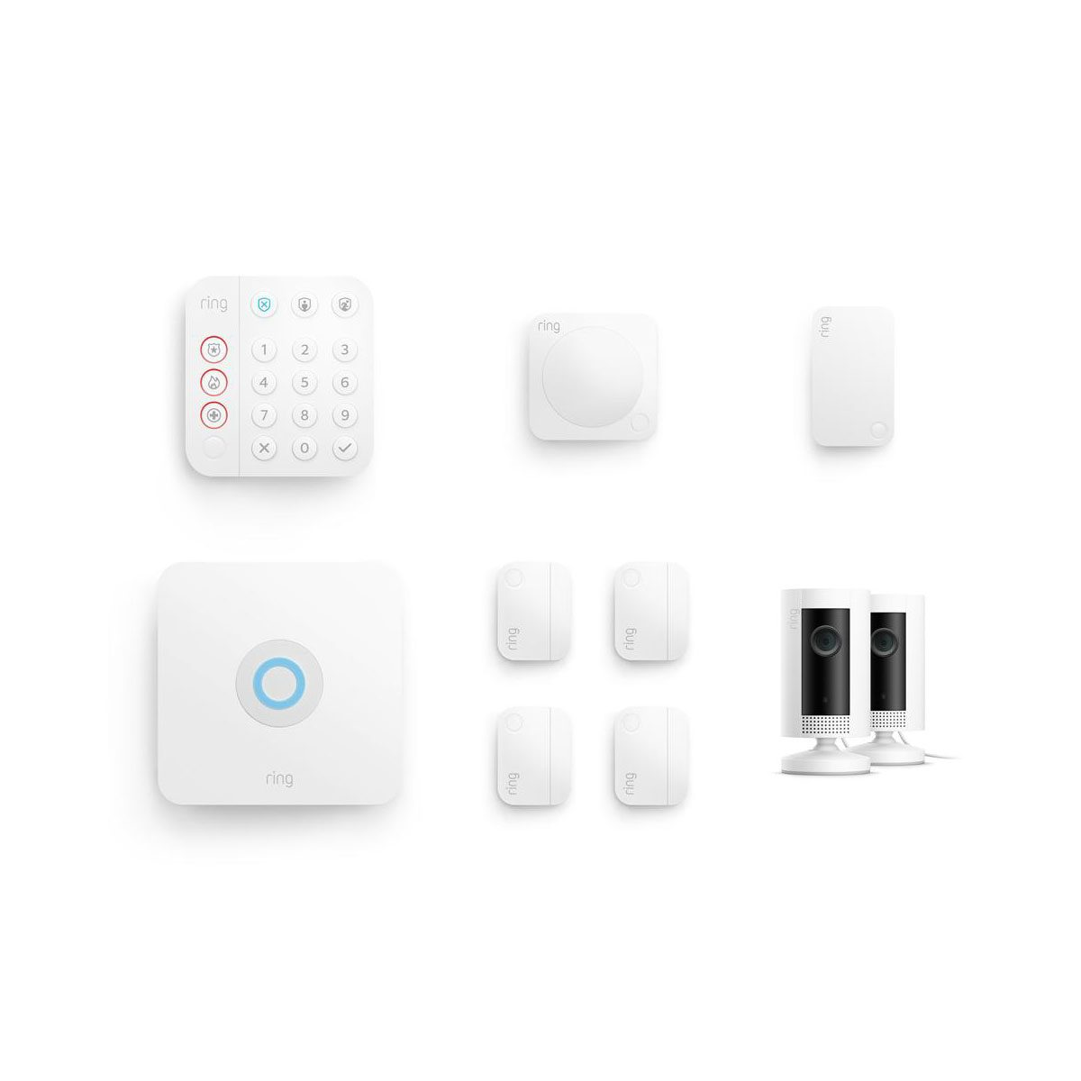 Ring Kit Hero Alarm 8pcbundle Business Ic 2pk Soft