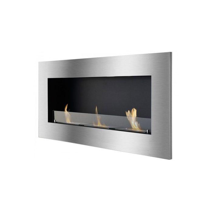 Ethanol Fireplace Optimum With Glass 2