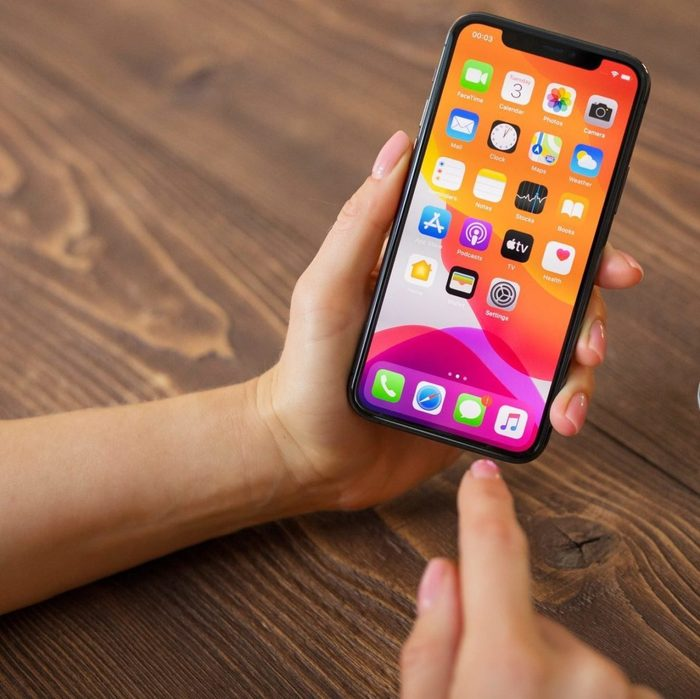 Person Using Apple Iphone 11 Pro