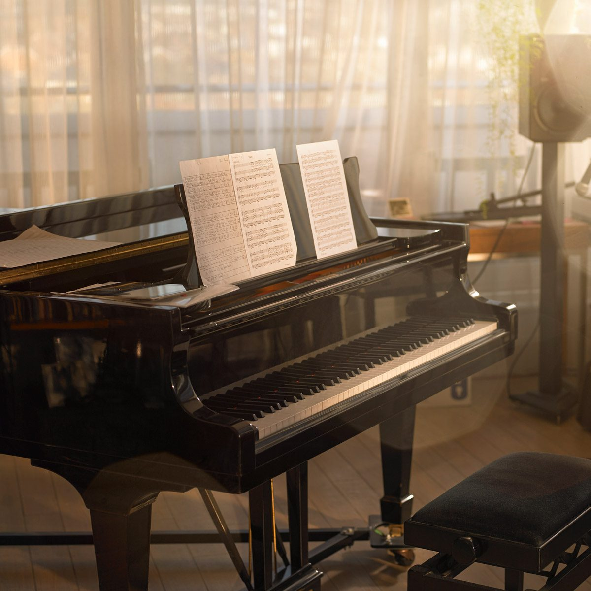 Grand Piano in a music room Gettyimages 481492419
