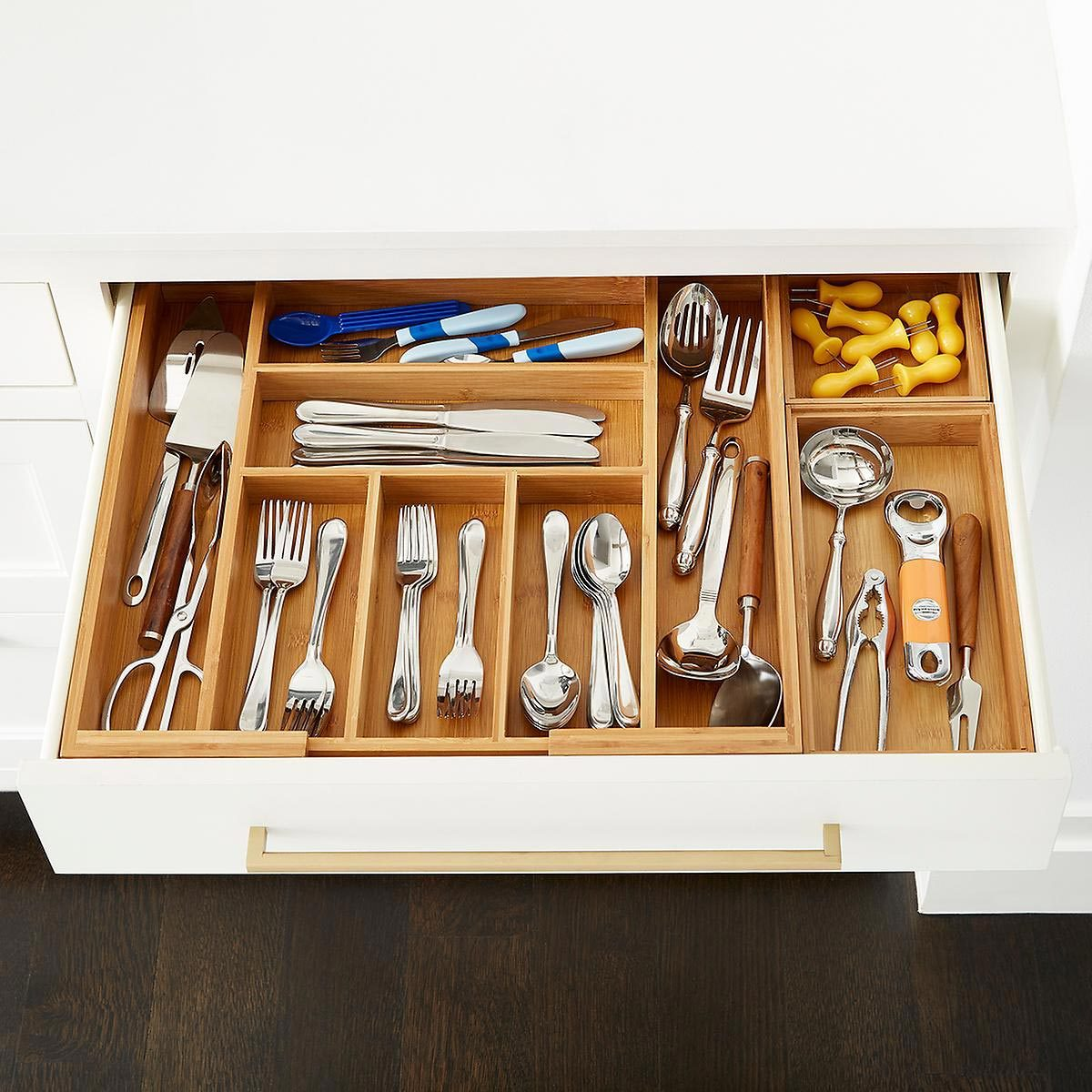 silverware organizer Kt 18 Drawer Steps After Rgb